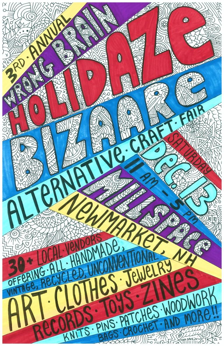 holidaze bizaare poster 2014 - Copy (Medium)