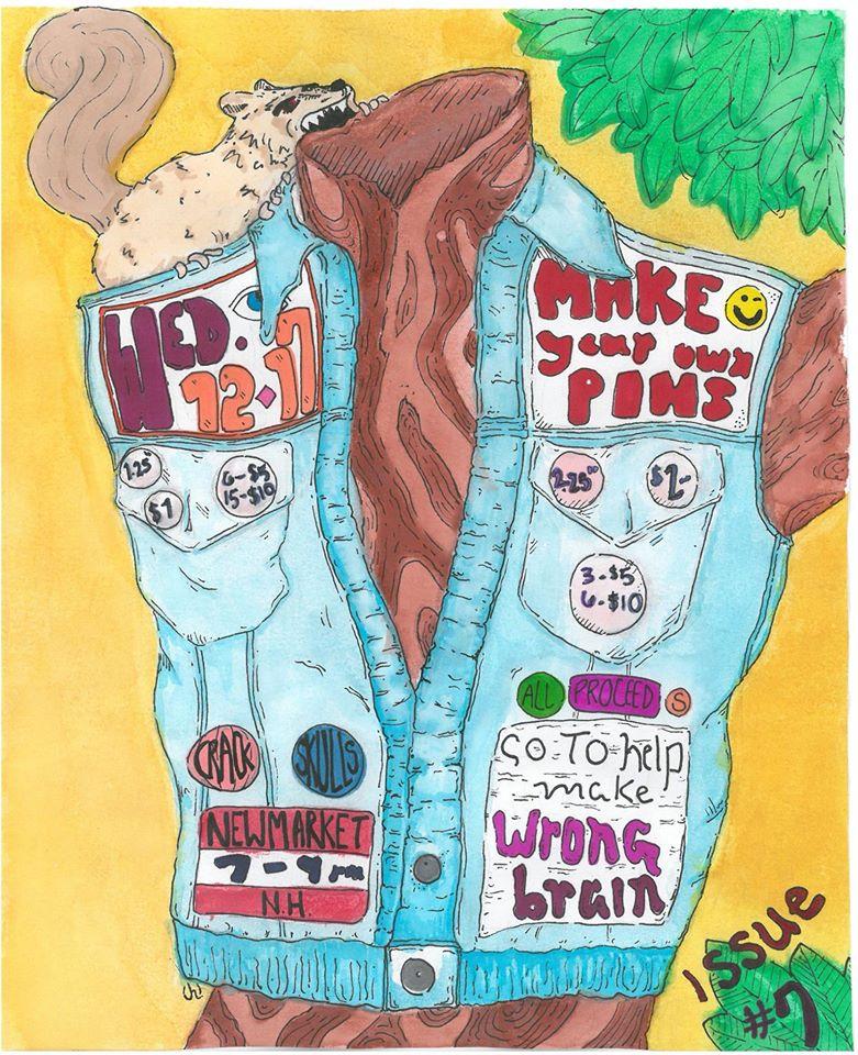 pin making poster