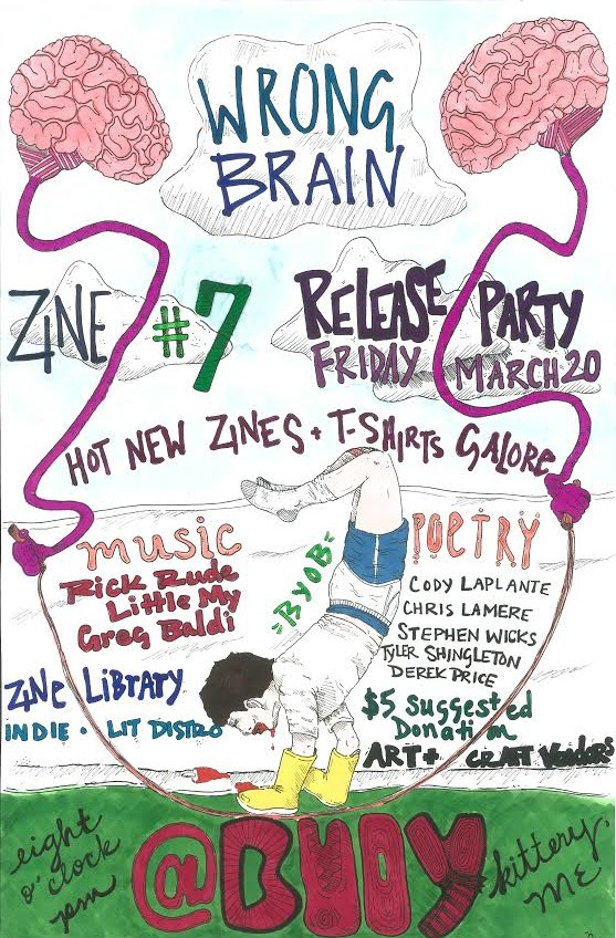 release 7 party poster