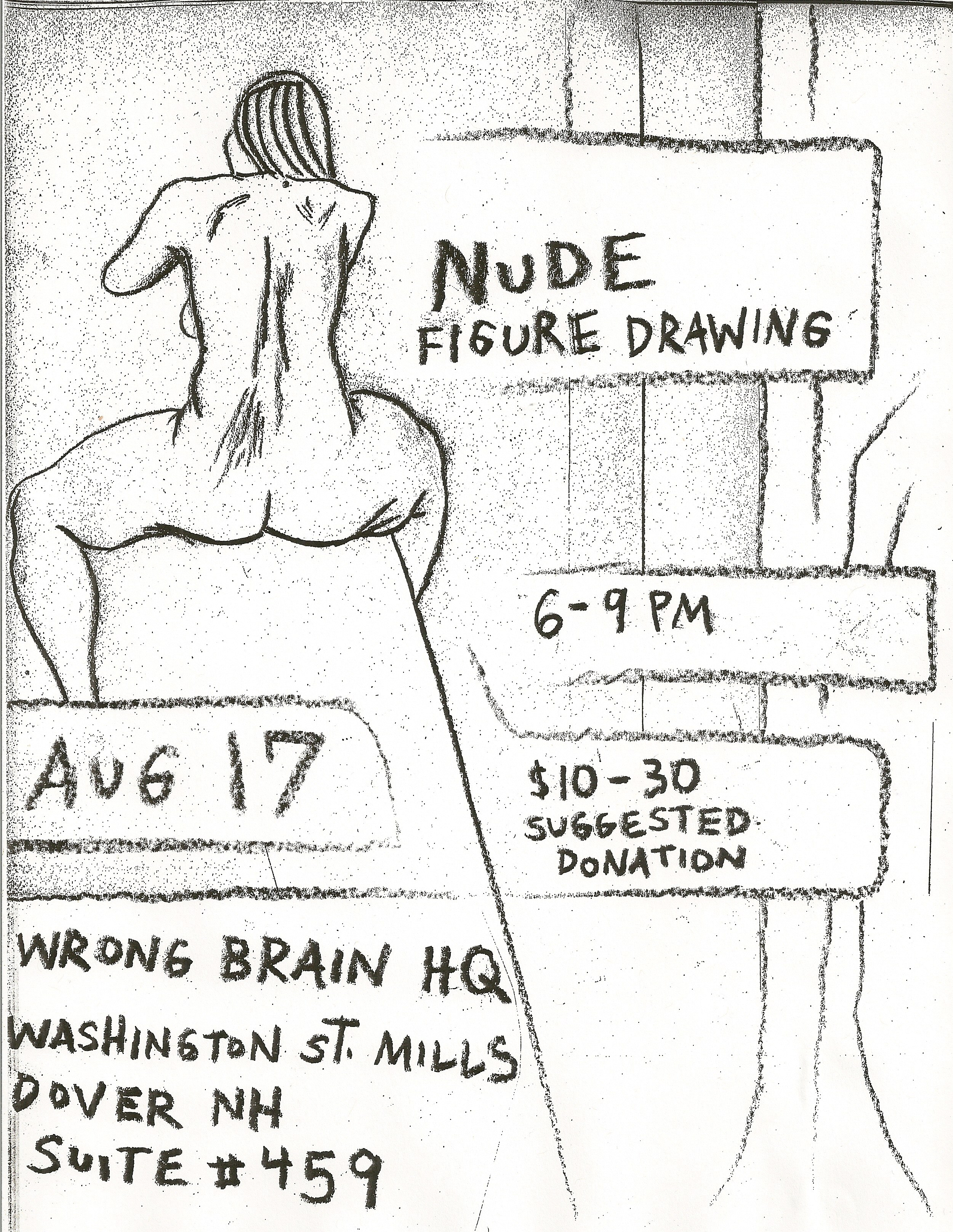 nude august poster